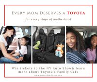 Every mom deserves a Toyota