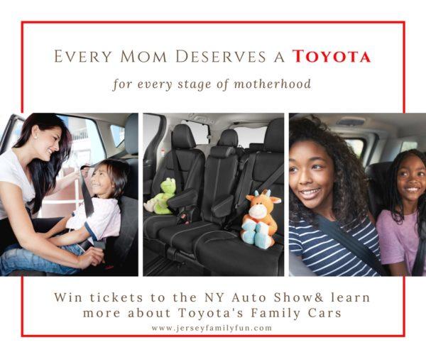 Every mom deserves a Toyota