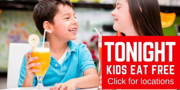 Find out where kids can eat free tonight in New Jersey