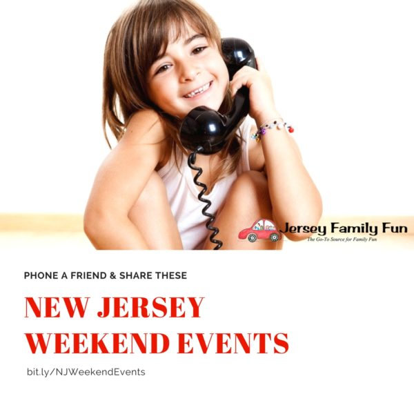Phone a friend New Jersey Weekend Events Instagram Version