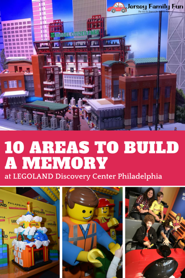 10 Areas to Build a Memory at LEGOLAND Discovery Center Philadelphia (PIN)