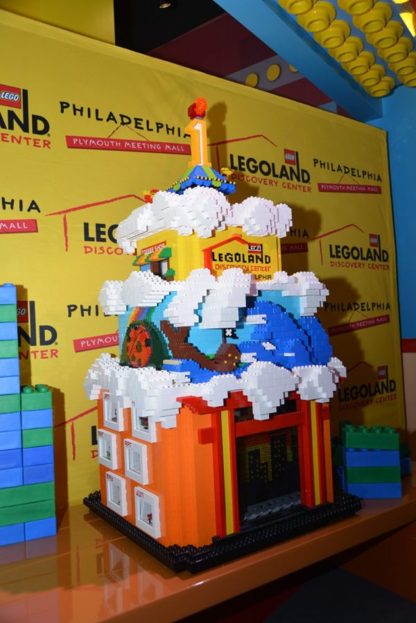 LEGOLAND Discovery Center Philadelphia birthday cake