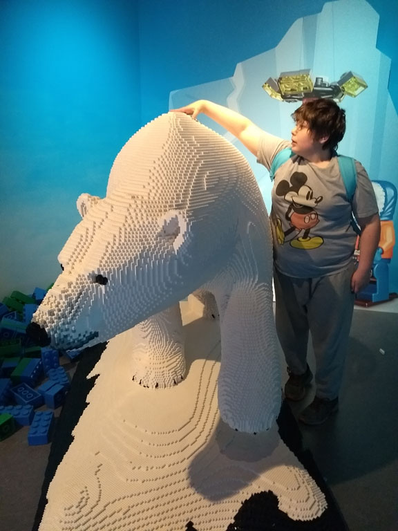 LEGOLAND Discovery Center Philadelphia Artic Adventure exhibit