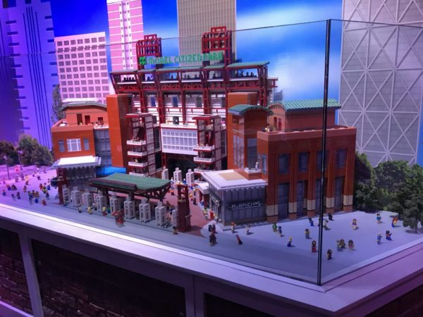 Miniland Philadelphia at LEGOLAND Discovery Center Philadelphia