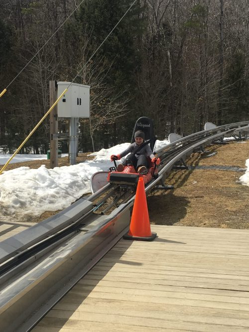 Timber Ripper Mountain Coaster at Okemo Mountain Resort