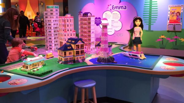 Lego friends at LEGOLAND Discovery Center Philadelphia