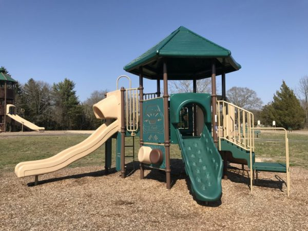 Preschool playground at Bass River Township park