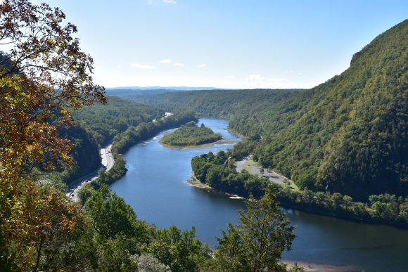 Mount Tammany of the Kittatinny Mountains