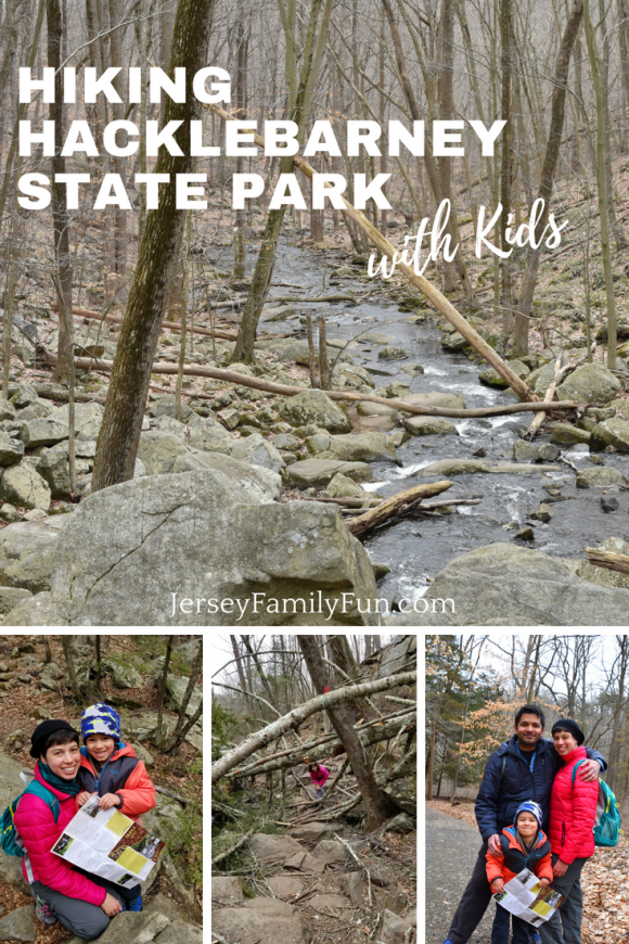 Hiking Hacklebarney State Park with Kids - Pin