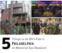 Things to do With Kids in Philadelphia on Memorial Day WEEKEND