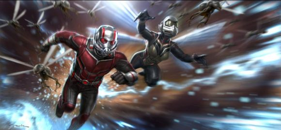 The Ant Man and the Wasp in the quantrum realm