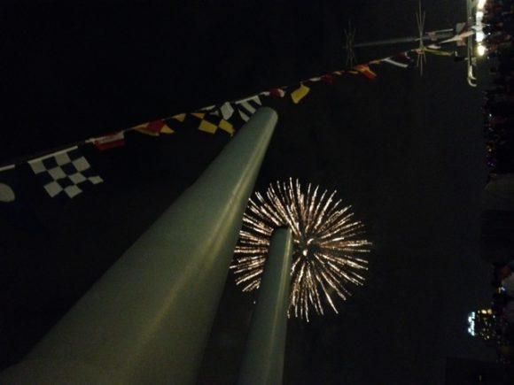 Battleship New Jersey Fireworks 2015