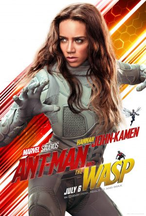 Hannah John-Kamen Ghost from The Ant-Man and the Wasp movie