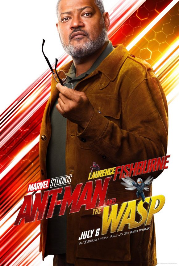 "Laurence Fishburne (""Dr. Bill Foster"") in Ant-Man and the Wasp"