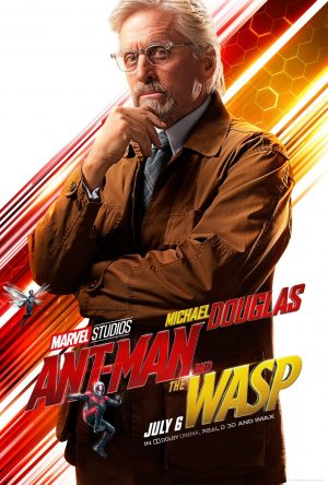 "Michael Douglas (""Dr. Hank Pym"")"