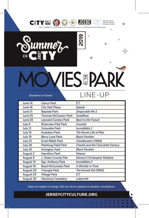 Jersey City Moves in the Park