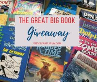 Jersey Family Fun encourages reading with the The great big book giveaway
