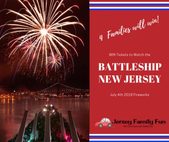 WIN Tickets to Watch July 4th Fireworks Aboard the Battleship New Jersey (1)