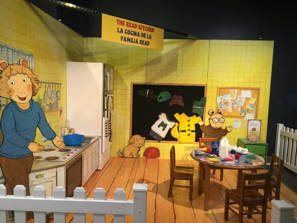 Things to do at Liberty Science Center's Arthur's World Exhibit