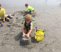 Auer boys on the beach