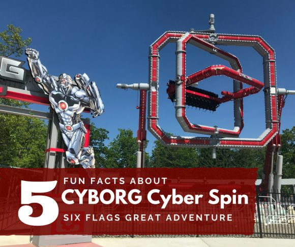 5 Fun Facts about CYBORG Cyber Spin at Six Flags Great Adventure