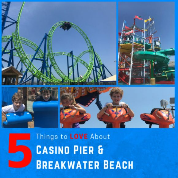 5 Things to Love About Casino Pier and Breakwater Beach with Giveaway