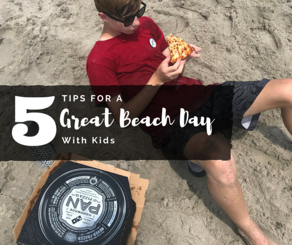 5 Tips for a Great Beach Day With Kids