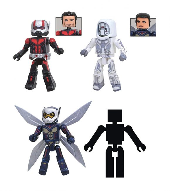 Ant-man and the Wasp minimates