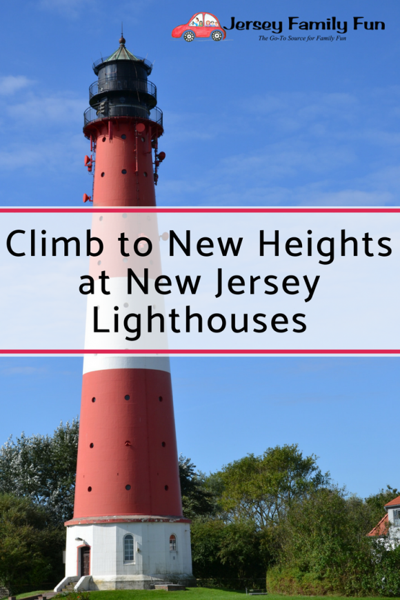 Climb to New Heights at NJ Lighthouses - Pin