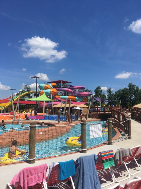 Funplex East Hanover offers a waterpark with multiple water slides in North Jersey