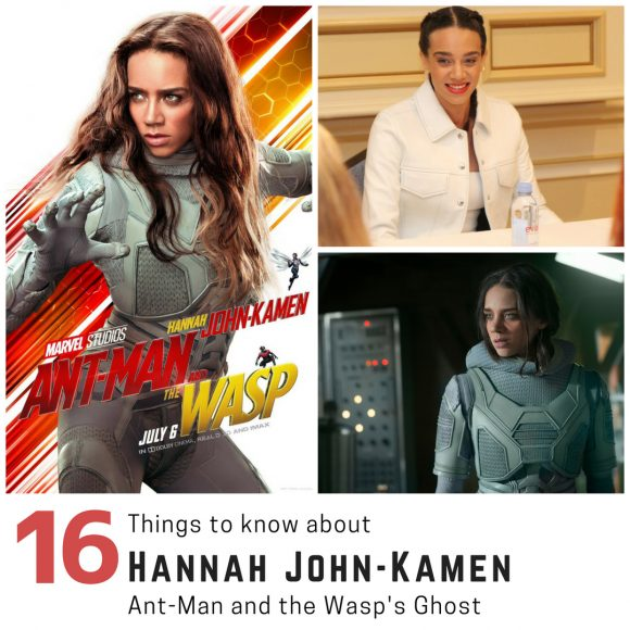 Get to Know The Ant-Man and the Wasp Movie Ghost Hannah John-Kamen
