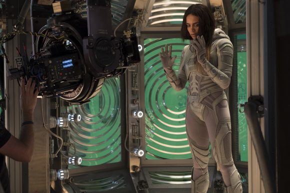 Hannah John-Kamen Ghost scene in Ant-Man and the Wasp Movie behind the scenes