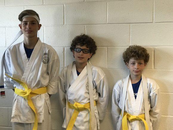 earning yellow belts at mackenzie & yates in Hammonton