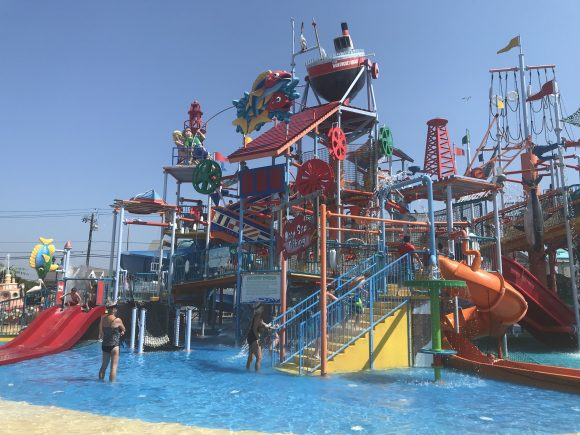 Breakwater Beach waterpark in Seaside Heights NJ