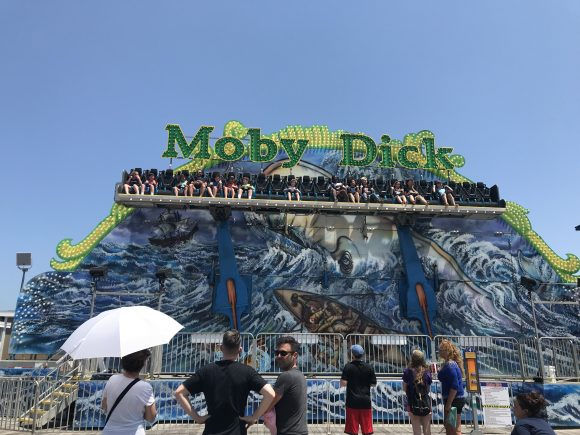 Moby Dick Ride at Casino Pier amusement park in Seaside Heights