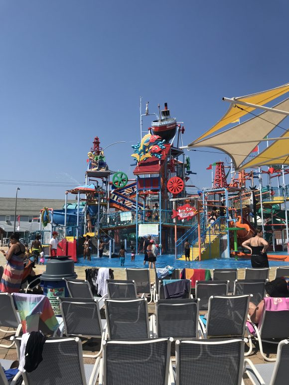 Casino Pier Waterpark in Seaside Heights NJ