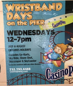 Casino Pier and Breakwater Beach discount days