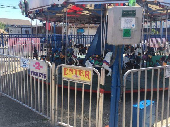 Keansburg Amusement Park carousel