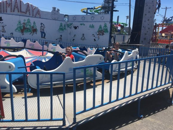 Ride the Mini Himalaya at Keansburg Amusement Park