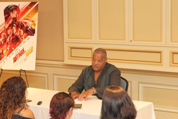 Laurence Fishburne interview 1