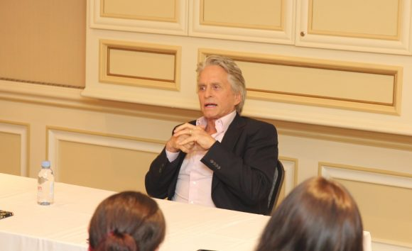 Michael Douglas from Ant-Man and the Wasp