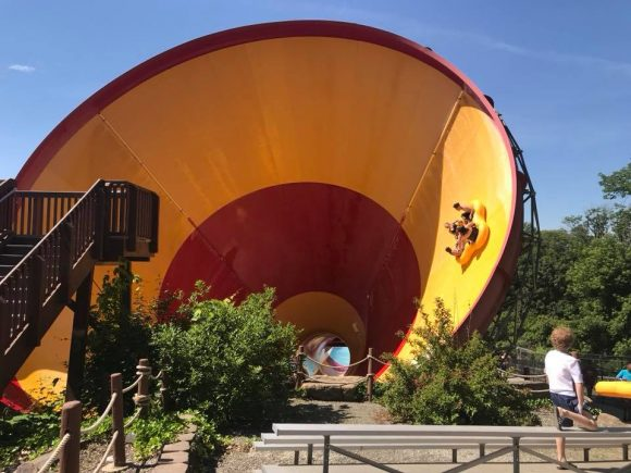 Mountain Creek Waterpark High Anxiety funnel ride