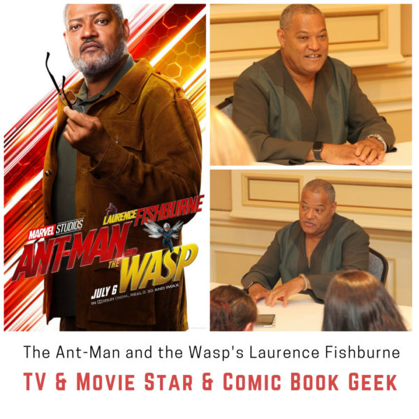 The Ant-Man and the Wasp\'s Laurence Fishburne TV & Movie Star ...