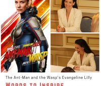 The Wasp's Evangeline Lilly Words to Inspire