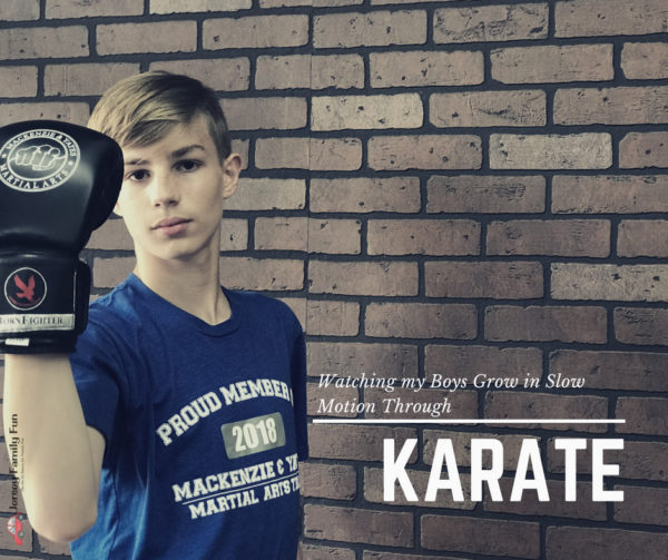 Watching my Boys Grow in Slow Motion Through Karate with Mackenzie and Yates martial arts school in hammonton nj
