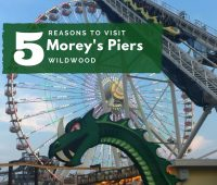 5 Reasons to Visit Morey's Piers in Wildwood