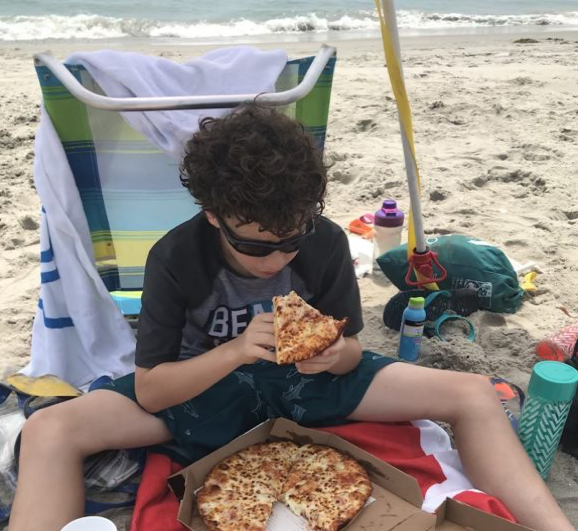 Order Domino's pizza to be delivered to the beach with Domino's Hotspots