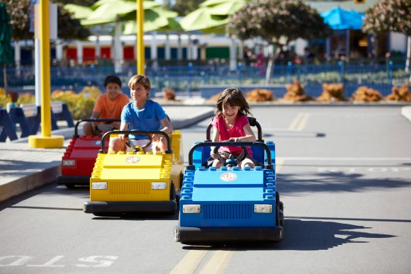 Earn an official Legoland driver's license at the LEGO Driving School at LEGOLAND New York.