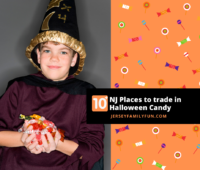 Places to trade in Halloween candy in New Jersey