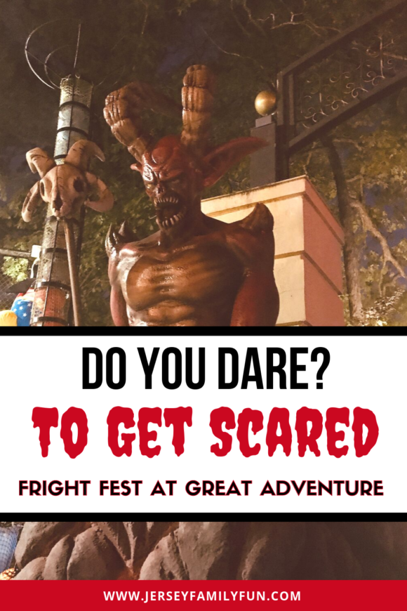 Do you dare to get scared at Fright Fest at Six Flags Great Adventure